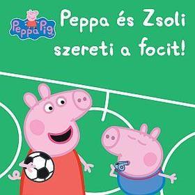 Peppa malac - Peppa és Zsoli szereti a focit!