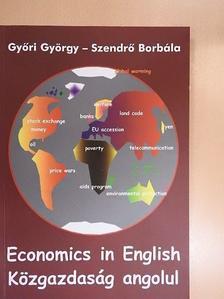 Győri György - Közgazdaság angolul [antikvár]