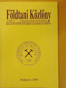 Ádám László - Földtani Közlöny 2006/1. [antikvár]