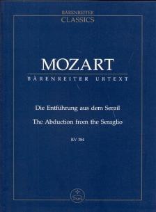 MOZART, W,A, - DIE ENTFÜHRUNG AUS DEM SERAIL KV 384 STUDIENPARTITUR URTEXT (G.CROLL)