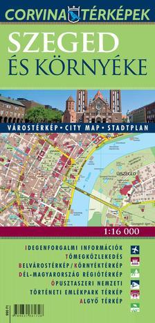 Szeged és környéke várostérkép