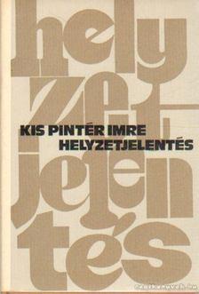 Kis Pintér Imre - Helyzetjelentés [antikvár]