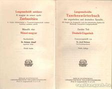 BALASSA JÓZSEF - Langenscheidts Taschenwörterbuch [antikvár]