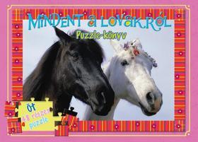 Mindent a lovakról puzzle-könyv