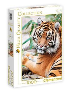 .- - Clementoni Puzzle 1000 Szumátrai tigris