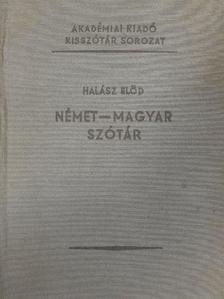 Halász Előd - Német-magyar szótár [antikvár]