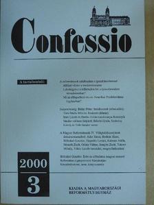 Áder János - Confessio 2000/3. [antikvár]