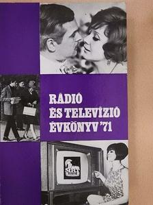 Boros János - Rádió és Televízió évkönyv 1971 [antikvár]