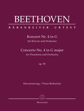 BEETHOVEN - KONZERT NR.4 IN G FÜR KLAVIER UND ORCHESTER OP.58 KLAVIERAUSZUG