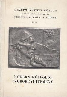 Modern külföldi szoborgyűjtemény [antikvár]