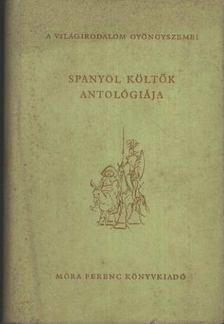 András László - Spanyol költők antológiája [antikvár]