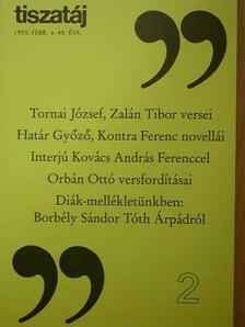 Árpás Károly - Tiszatáj 1995. február [antikvár]