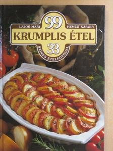 Hemző Károly - 99 krumplis étel 33 színes ételfotóval [antikvár]