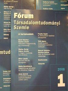 Andrej Tóth - Fórum Társadalomtudományi Szemle 2008/1-4. [antikvár]