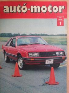 Almássy Tibor - Autó-Motor 1979. január [antikvár]