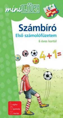 LDI-216 - Számbíró / Futball - Első számolófüzetem 6 éves kortól