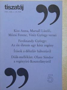 A. Sajti Enikő - Tiszatáj 1995. május [antikvár]