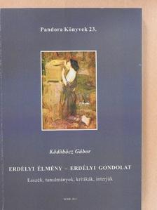 Ködöböcz Gábor - Erdélyi élmény - Erdélyi gondolat [antikvár]