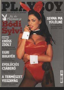 Hefner, Hugh M., Pósa Árpád - Playboy 2002. november [antikvár]