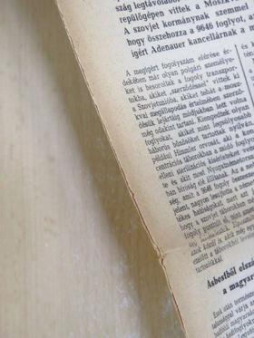 Árva Péter - Uj Hungária 1955. október 28. [antikvár]