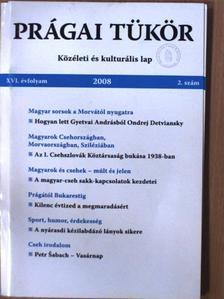 Balázs Géza - Prágai tükör 2008/2. [antikvár]