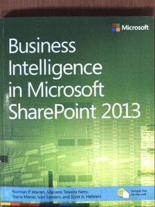 Ivan Sanders - Business Intelligence in Microsoft SharePoint 2013 [antikvár]