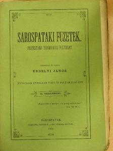 G. L. - Sárospataki Füzetek 1864/IX. [antikvár]