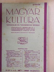 Ijjas Antal - Magyar Kultúra 1934. augusztus 5. [antikvár]