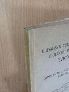 Andreánszky Gábor - Budapesti Tudományegyetem Biológiai Intézetének Évkönyve 1950. [antikvár]
