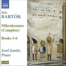 Bartók Béla - MIKROKOSMOS 2CD JANDÓ JENŐ