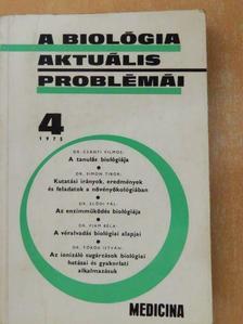 Dr. Csányi Vilmos - A biológia aktuális problémái 4. [antikvár]