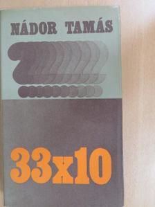 Bárány Tamás - 33 x 10 [antikvár]