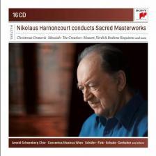 MOZART, VERDI, BACH... - NIKOLAUS HARNONCOURT CONDUCTS SACRED MASTERWORKS 16CD