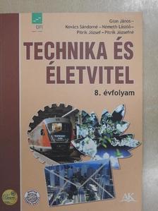Németh László - Technika és életvitel 8. [antikvár]