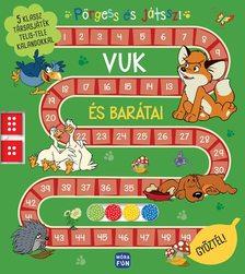 Pörgess és játssz! - Vuk és barátai - 5 klassz társasjáték telis-tele kalandokkal