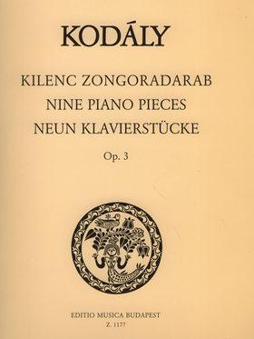 KOD - KILENC ZONGORADARAB OP.3