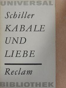 Schiller - Kabale und Liebe [antikvár]