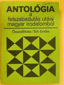 Ágh István - Antológia a felszabadulás utáni magyar irodalomból [antikvár]