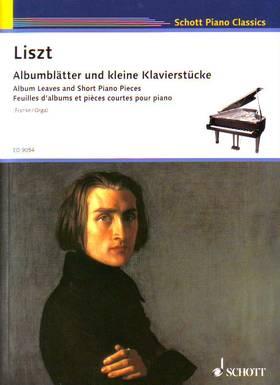 LISZT - ALBUMLAETTER UND KLEINE KLAVIERSÜTCKE (FRANKE / ORGA)