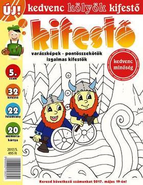 CSOSCH KIADÓ - Kedvenc Kölyök Kifestő 5.