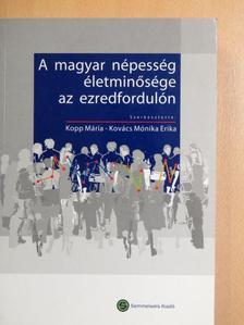 Ádám Szilvia - A magyar népesség életminősége az ezredfordulón [antikvár]