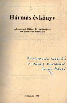Balázs Ildikó - Hármas évkönyv (dedikált) [antikvár]
