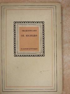 Shakespeare - III. Richárd [antikvár]