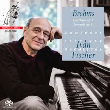 BRAHMS... - SYMPHONY NO.3 - SERENADE NO.2 CD FISCHER IVÁN