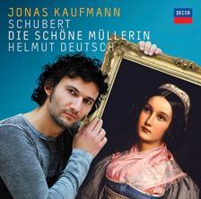 SCHUBERT - DIE SCHÖNE MÜLLERIN CD JONAS KAUFMANN, HELMUT DEUTSCH