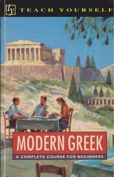 S. A. Sofroniou - Modern Greek [antikvár]