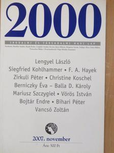 Balla D. Károly - 2000 2007. november [antikvár]