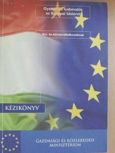 Benedek András - Gyakorlati tudnivalók az Európai Unióról [antikvár]