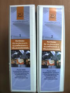 Simon Zoltán - Hatósági és felügyeleti ellenőrzések vállalkozásoknál 1-2. - 3 CD-vel [antikvár]
