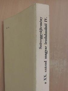 Diószegi András - Szöveggyűjtemény a XX. század magyar irodalmából [antikvár]
